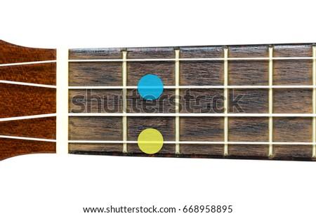 Ukulele Chord Minor 6 6 On Stock Photo Edit Now 668958895