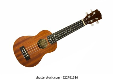 ukulele isolate white background