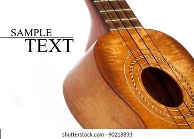 ukulele isolated