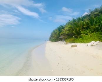 Ukulhas island in the Maldives