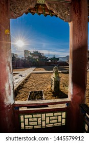 Ulaanbaatar/ Mongolia- 11-11-2018 The Winter Palace of Bogd Khaan located in southern Ulaanbaatar on the road to Zaisan, displays the collection of personal belongings of the last king and his wife,