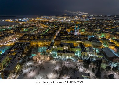 Ullanlinna is a city district of Helsinki, in Finland. St. John's Church in Helsinki is a Lutheran church designed by the Swedish architect Adolf Melander in the Gothic Revival style.