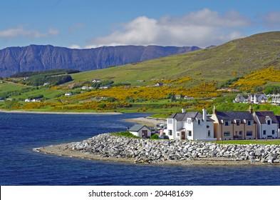 Ullapool in Springtime, Scotland