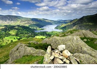 Ullswater from Arnison Crag