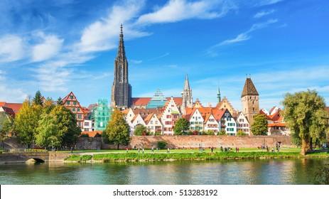 Ulm City Panorama, Germany