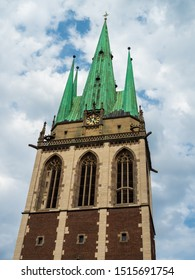 Ulm, Germany - Jul, 20th 2019: St. George's choirboys Ulm, the Catholic parish of St. George in the Ulmer Oststadt is a lively municipality.