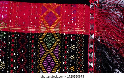 Ulos Pattern. Ulos is the traditional cloth of the Batak people of North Sumatra in Indonesia. Different kinds of ulos have different ceremonial significance