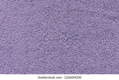 Ultra violet towel texture background. Violet  terry towel texture