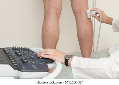 Ultrasound of veins in clinic