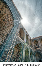 Ulugh Beg Madrasah on Registan square, Samarkand, Uzbekistan