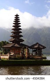 Ulun Danau temple in Bali, Indonesia