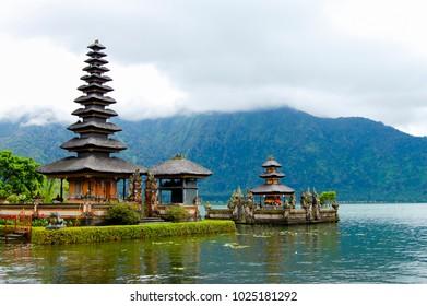 Ulun Danu Beratan Temple - Bali - Indonesia