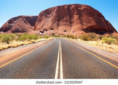 Uluru (Ayers Rock), Northern Territory, Australia, September 2018
