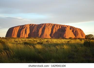 Uluru, Northern Territory, Australia 12/15/10. Uluru, also called Ayers Rock, at sunset