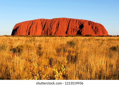 Uluru, Northern Territory, Australia – September, 2018 - Uluru (Ayers Rock), Northern Territory, Australia