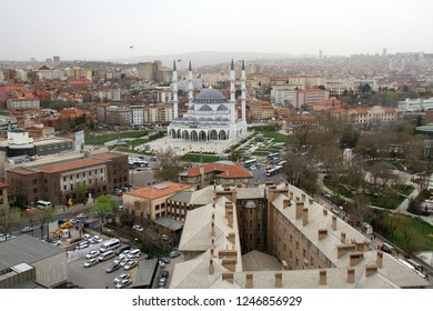 Ulus, Ankara/Turkey-03,23,2018:A view to Ulus, Ankara.