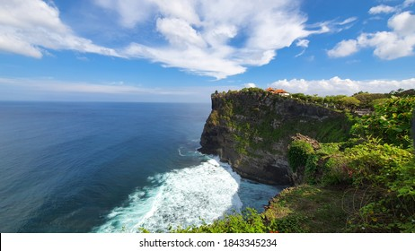 Uluwatu Temple is one of six key temples believed to be Bali's spiritual pillars, is renowned for its magnificent location, perched on top of a steep cliff approximately 70 metres above sea level.