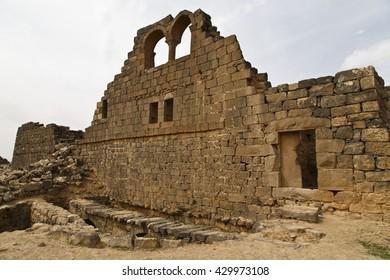 Um el-Jimal Byzantine site