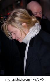 Uma Thurman in Oslo, Norway december 2007
