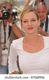 Uma Thurman at the photocall for the jury at the 64th Festival de Cannes. May 11, 2011  Cannes, France Picture: Paul Smith / Featureflash