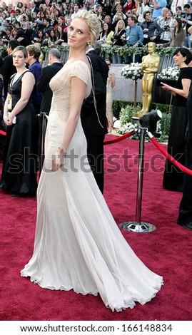 Uma Thurman Wearing Versace At OSCARS 78th Annual Academy Awards The Kodak Theater