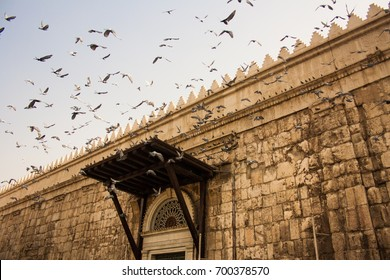 Umayyad mosque in Ancient City of Damascus (Syrian Arab Republic)