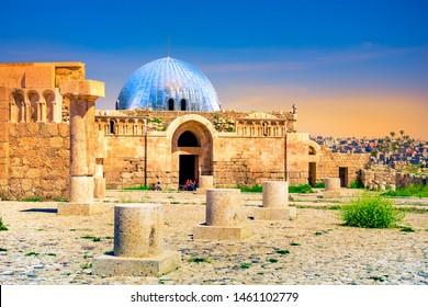 Umayyad Palace at the Amman Citadel, Jordan