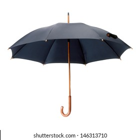 Umbrella isolated over white.