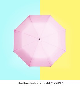 umbrella on a colorful background