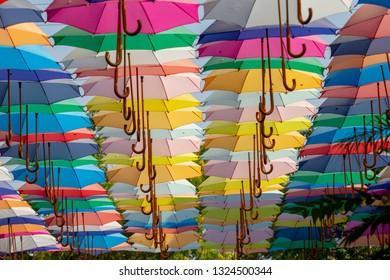 umbrella street decoration