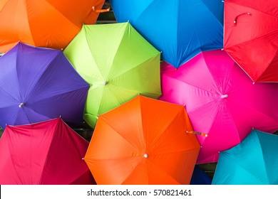 umbrellas coloring