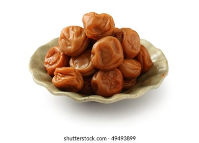 Umeboshi , Salt-pickled and Sun-dried Plums
