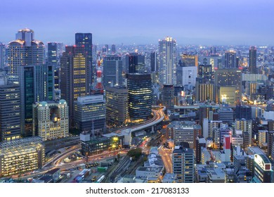 Umeda Skyline Osaka, Japan