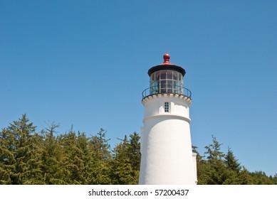 Umpqau River Lighthouse near Reedsport, Oregon