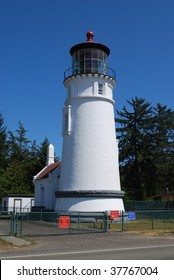 Umpquah River Lighthouse, Winchester Bay, Oregon