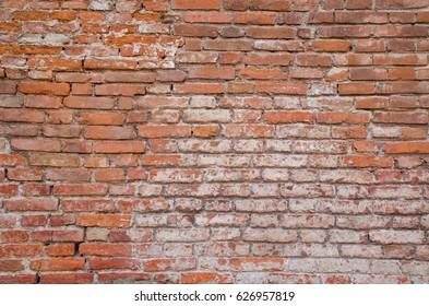 Un muro in mattoni