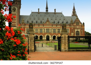 UN peace palace in Hague, Netherlands