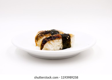 Unagi (eel) nigiri sushi