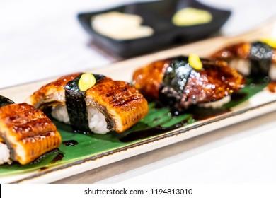 Unagi (eel) Sushi - japanese food