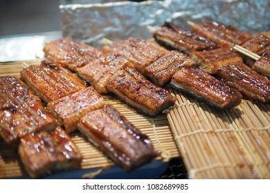 Unagi or Japanese Eel Grill for food.