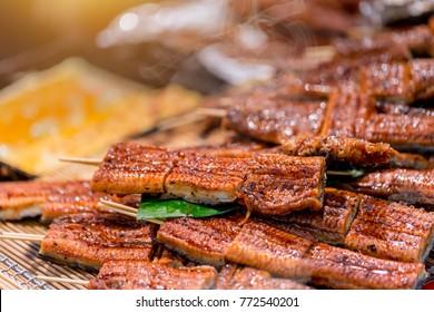 Unagi or Japanese Eel Grill for food