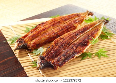 Unagi No Kabayaki (grilled eel with soy based sauce)