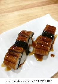 unagi sushi ready for eat