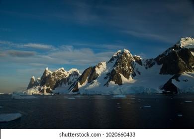 una's breast and lemaire channel, antarctic peninsula, Antarctica
