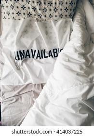 Unavailable bed