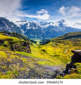 Grindelwald Grund Images, Stock Photos & Vectors   Shutterstock