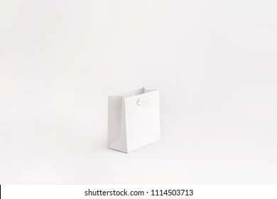 Unbranded Magnolia Supreme Paper Bag White Extra Small