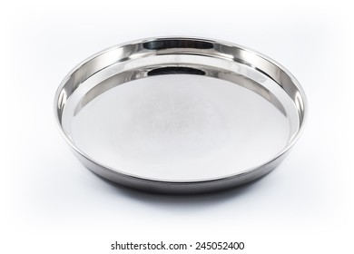 Unbreakable utensils for eating of pure stainless steel from India.