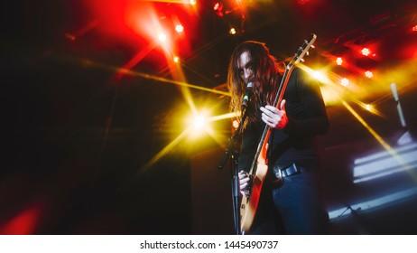 Uncle Acid and The Deadbeats at Sideways festival. Helsinki, Finland - 6-8 June 2019,  Helsinki Ice Hal.
