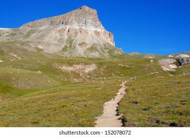 Uncompahgre Peak, Rocky Mountains, Colorado